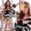 DS-PP-020 Lady Eva Chic Bold Striped Set thumbnail 3