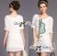 Lady Briony Playful Layered Sequin Dress Set สีขาว thumbnail 5