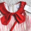 Lovely Crab Dress ชุดเดรสเด็กสีแดง thumbnail 12