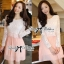 DR-LR-046 Lady Mina Smart Casual Lace and Pleated Dress thumbnail 1
