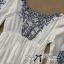 DR-LR-265 Lady Eliza Pretty Embroidered Brocade Kaftan Mini Dress thumbnail 9