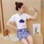 Set cartoon T-shirt embroidered skirt cute by Aris Code thumbnail 5