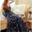 Lady Leslie Super Stars Sequin Embroidered Tulle Maxi Dress L245-89C01 thumbnail 2
