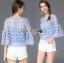 Lady Sophia Feminine Crochet Cropped Top L266-6917 thumbnail 9