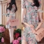 Lady Carley Sweet Blooming Bouquest Pastel Dress thumbnail 4
