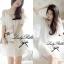 DR-LR-098 Temperley London Giovanna Embellished White Tunic Dress thumbnail 1