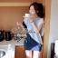 DR-LR-093 Lady Eve Smart Minimal Chic Mini Dress thumbnail 3