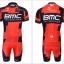 ชุดปั่นจักรยาน แบบชุดทีมแข่ง ทีม BMC ขนาด L พร้อมส่งทันที รวม EMS thumbnail 2