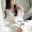 DR-LR-222 Temperley London Giovanna Embellished White Tunic Dress thumbnail 7