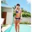 SM-V1-296 ชุดว่ายน้ำแฟชั่น คนอ้วน เด็ก ดารา thumbnail 4