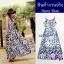 Maxi Dress เดรสดอกไม้โบฮีเมี่ยน thumbnail 2