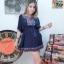 เดรสสปันงานปักลายสวยๆๆ จร้า ผ้าสปันใส่สวยมากก งานปักเนี้ยบจั้มเอว thumbnail 4