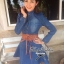 DR-LR-025 Lady Ribbon's Made Lady Mara Chic Denim Dress thumbnail 8