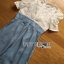 Lady Sophie Smart Casual White Lace and Blue Jumpsuit L269-7519 thumbnail 7