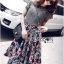 Lady Liz Lace Jumper and Floral Printed Midi Skirt Set L200-89C11 thumbnail 2