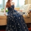 Lady Leslie Super Stars Sequin Embroidered Tulle Maxi Dress L245-89C01 thumbnail 4