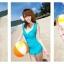 SM-V1-037 ชุดว่ายน้ำแฟชั่น คนอ้วน เด็ก ดารา thumbnail 3