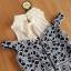 Dress ชุดกระโปรงอัดแน่นด้วยลูกไม้ทั้งชุด คอปกสีขาว thumbnail 6
