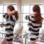 DS-PP-020 Lady Eva Chic Bold Striped Set thumbnail 9