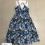 Dress กราฟฟิก คอปีน ทรงสวยเก๋ thumbnail 2