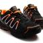 รองเท้าปั่นจักรยาน เสือภูเขา ลำลอง สีส้ม - TB22-B1285-0207 thumbnail 4