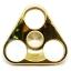HF095 Hand spinner - GYRO (ไจโร) -Fingertip Gyroscope โลหะ รุ่น Triangle สี ทอง thumbnail 1