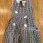 Lady Jennifer Summery Pretty Daisy Embroidered Plaid Dress L265-6901 thumbnail 12