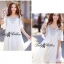 DR-LR-098 Temperley London Giovanna Embellished White Tunic Dress thumbnail 3
