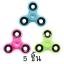 HA 240-242 Hand spinner - GYRO (ไจโร) -Fingertip Gyroscope Basic เรืองแสง คละสี 5 ชิ้น thumbnail 1