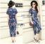 Lady Taylor Street Chic Fashionable Printed Soft Denim Set L262-7502 thumbnail 14