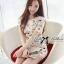 DR-LR-212 Lady Vivid Floral Lace Mini dress, Partysu Korea thumbnail 8