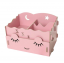 กล่องใส่ของจุกจิก DIY Cosmetic Box กล่องจัดระเบียบเครื่องสำอางบนโต๊ะ Box 001 thumbnail 1
