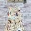เดรสผ้าทอพิมลายดอกบ้าน d&g thumbnail 3