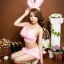 SL-I1-216 ชุดกระต่าย Bunny สีชมพูหวาน thumbnail 3