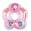 ห่วงยางสวมคอสำหรับเด็ก 4-12 เดือน สีชมพู