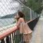 Set Pleat Koreastyle เสื้อ&กางเกง เชือกผูกคาดเอว ชายกระดก thumbnail 9