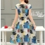 Print dress cute brightly colored long skirts by Aris Code thumbnail 5