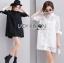 Lady Monica Sweet Minimal White Lace Shirt Dress L266-7908 thumbnail 1