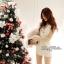 DR-LR-040 Lady Miki Pleats Please Chiffon Dress (สีขาว) thumbnail 4