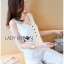 Lady Cara Holiday Casual White Lace Cropped Top and Culottes Set L253-75C22 thumbnail 8
