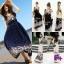 Maxi Dress แมกซี่เดรสตัวยาวแขนกุด thumbnail 4