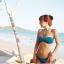 SM-V1-118 ชุดว่ายน้ำแฟชั่น คนอ้วน เด็ก ดารา thumbnail 2