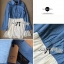 DR-LR-044 Lady Olivia Casual Chic Denim Short Dress thumbnail 2