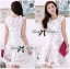 DR-LR-127 Lady Rachel Sweet Angel Flowery Dress in White thumbnail 8