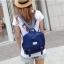 กระเป๋าเป้สไตล์เกาหลี &#x266B ้เป็นเป้ผ้าแคนวาส thumbnail 4