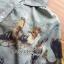 Lady Natalie Natural Wild Birdie Printed Shirt Dress L255-69B07 thumbnail 7