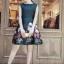 ดรสสีดำพิมพ์ลายดอกสีสันสดใส งานสวยเนื้อผ้าโฟร์เวร์ thumbnail 2