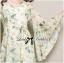 Lady Annie Floral Printed Flared Sleeve Chiffon Mini Dress thumbnail 7