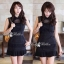 DR-LR-081 Victoria Secret Autumn Black&White Secret Mini Dress thumbnail 8