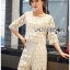 Lady Ariana Round n' Round Cotton Embroidered Top and Pants Set L273-8911 thumbnail 14